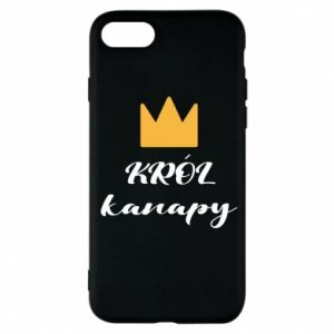 Phone case for iPhone 7 King of the couch - PrintSalon