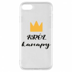 Etui na iPhone 8 Król kanapy