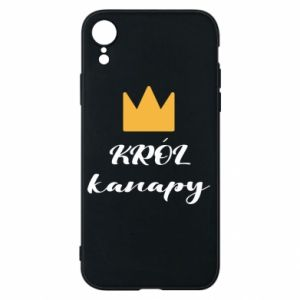 Phone case for iPhone XR King of the couch - PrintSalon