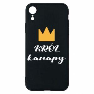 Etui na iPhone XR Król kanapy