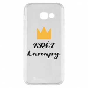 Phone case for Samsung A5 2017 King of the couch - PrintSalon