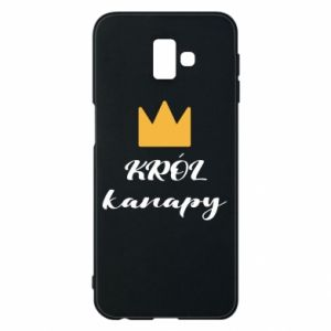 Phone case for Samsung J6 Plus 2018 King of the couch - PrintSalon