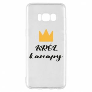 Phone case for Samsung S8 King of the couch - PrintSalon