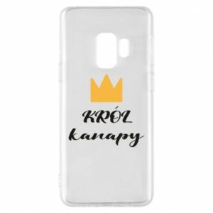Phone case for Samsung S9 King of the couch - PrintSalon