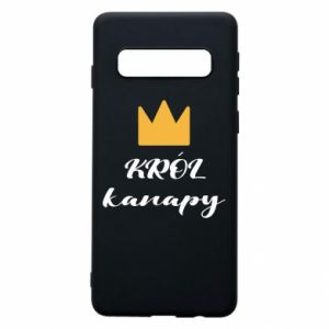 Phone case for Samsung S10 King of the couch - PrintSalon