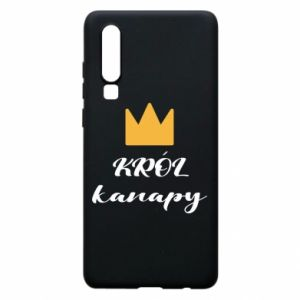 Phone case for Huawei P30 King of the couch - PrintSalon