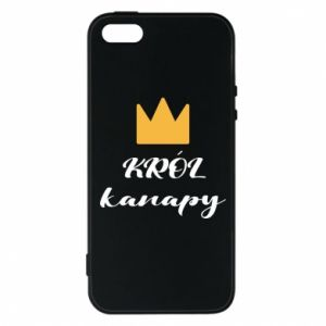 Etui na iPhone 5/5S/SE Król kanapy