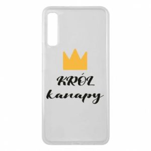 Phone case for Samsung A7 2018 King of the couch - PrintSalon
