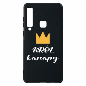 Phone case for Samsung A9 2018 King of the couch - PrintSalon