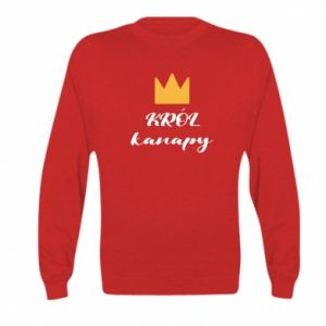 Bluza dziecięca Król kanapy