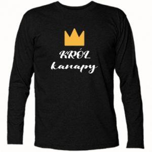 Koszulka z długim rękawem Król kanapy