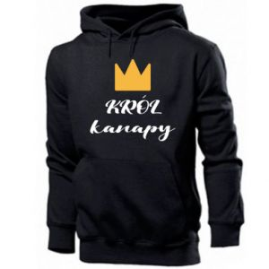 Men's hoodie King of the couch - PrintSalon