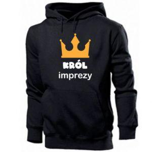 Men's hoodie Party king