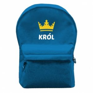 Backpack with front pocket King