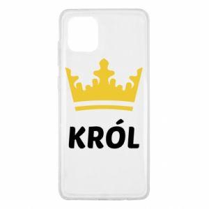Etui na Samsung Note 10 Lite Król