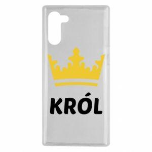 Etui na Samsung Note 10 Król