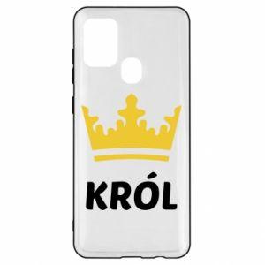 Etui na Samsung A21s Król