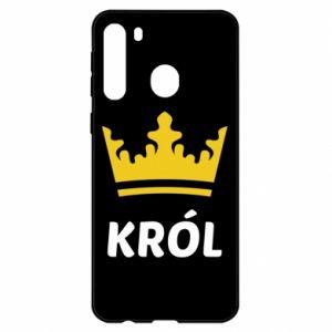Etui na Samsung A21 Król