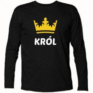 Koszulka z długim rękawem Król - PrintSalon