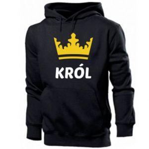 Bluza z kapturem męska Król