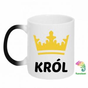 Kubek-kameleon Król - PrintSalon