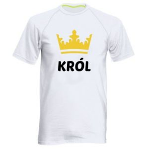 Men's sports t-shirt King