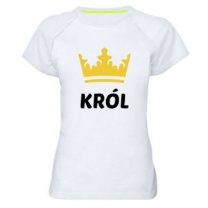 Women's sports t-shirt King
