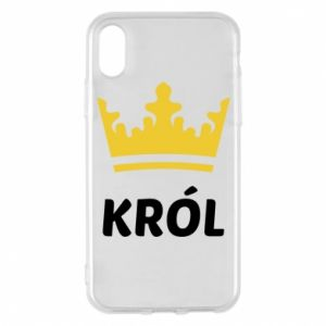 Phone case for iPhone X/Xs King