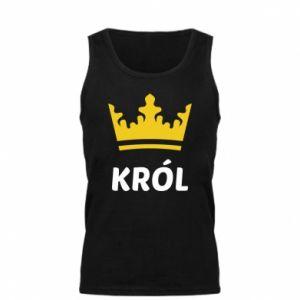 Męska koszulka Król - PrintSalon