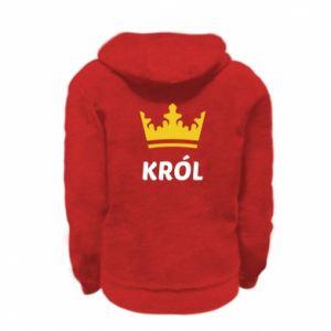 Bluza na zamek dziecięca Król