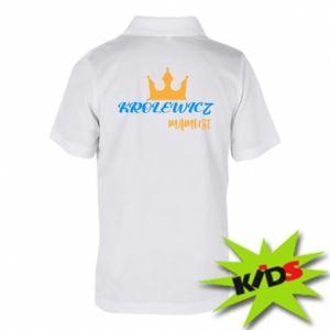 Dziecięca koszulka polo Królewicz mamusi
