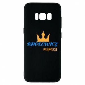 Etui na Samsung S8 Królewicz mamusi