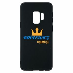 Etui na Samsung S9 Królewicz mamusi