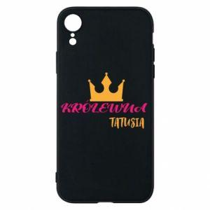 Etui na iPhone XR Królewna tatusia