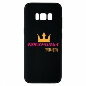 Etui na Samsung S8 Królewna tatusia