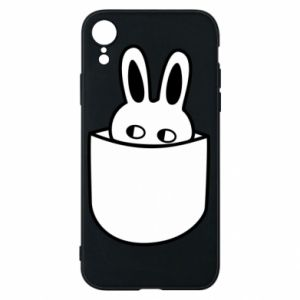 iPhone XR Case Bunny in the pocket