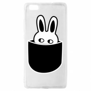 Huawei P8 Lite Case Bunny in the pocket