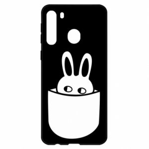 Samsung A21 Case Bunny in the pocket