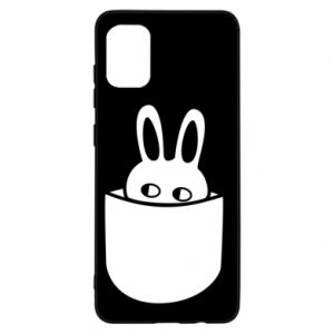Samsung A31 Case Bunny in the pocket