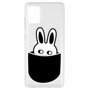 Samsung A51 Case Bunny in the pocket
