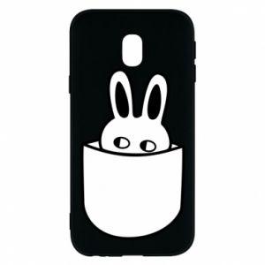 Samsung J3 2017 Case Bunny in the pocket