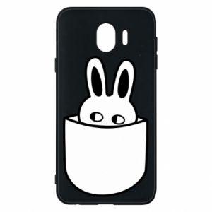 Samsung J4 Case Bunny in the pocket
