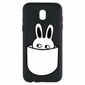 Samsung J5 2017 Case Bunny in the pocket