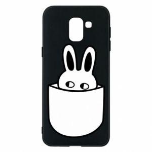 Samsung J6 Case Bunny in the pocket
