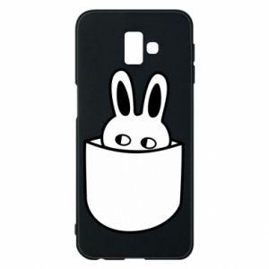 Samsung J6 Plus 2018 Case Bunny in the pocket