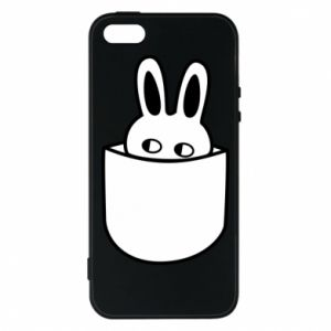 iPhone 5/5S/SE Case Bunny in the pocket