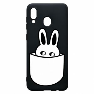 Samsung A20 Case Bunny in the pocket