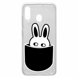 Samsung A30 Case Bunny in the pocket