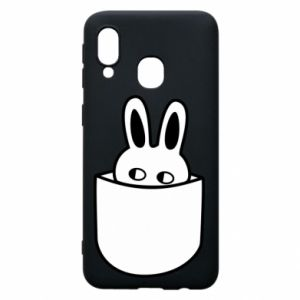 Samsung A40 Case Bunny in the pocket