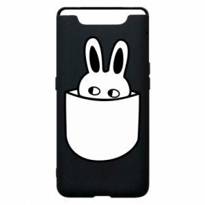 Etui na Samsung A80 Кróliczek w kieszeni